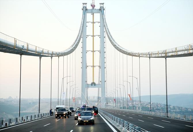 Osmangazi Köprüsü bayram müjdesiyle hizmete açıldı galerisi resim 1