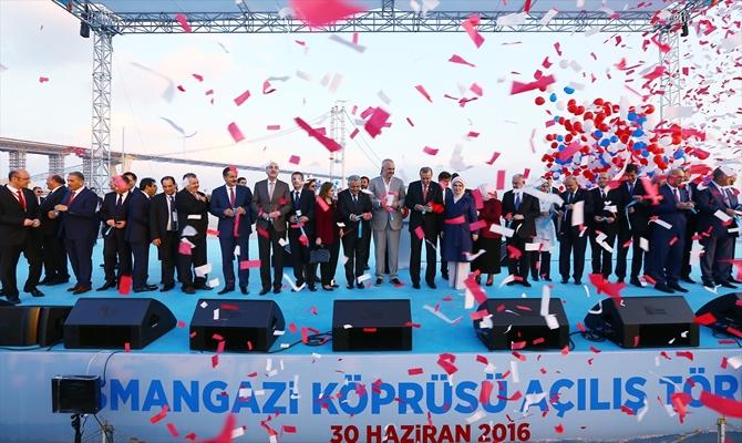 Osmangazi Köprüsü bayram müjdesiyle hizmete açıldı galerisi resim 10