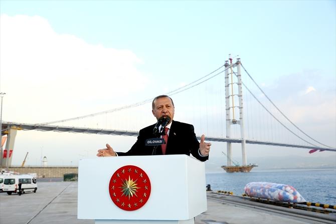 Osmangazi Köprüsü bayram müjdesiyle hizmete açıldı galerisi resim 12