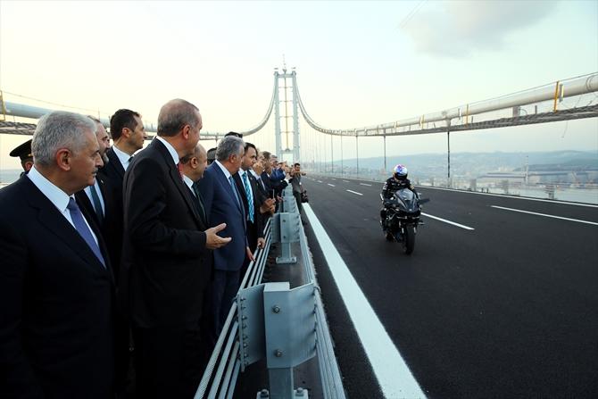 Osmangazi Köprüsü bayram müjdesiyle hizmete açıldı galerisi resim 4