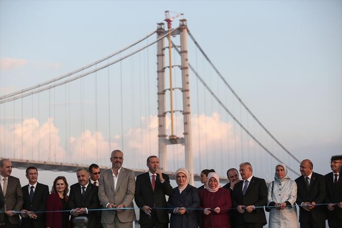 Osmangazi Köprüsü bayram müjdesiyle hizmete açıldı galerisi resim 6
