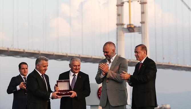 Osmangazi Köprüsü bayram müjdesiyle hizmete açıldı galerisi resim 7