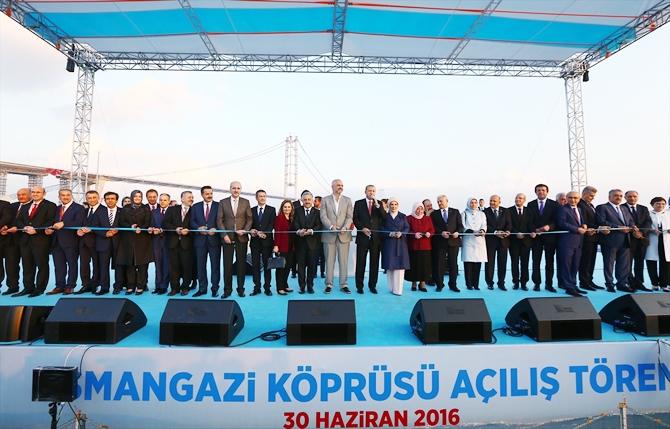 Osmangazi Köprüsü bayram müjdesiyle hizmete açıldı galerisi resim 8