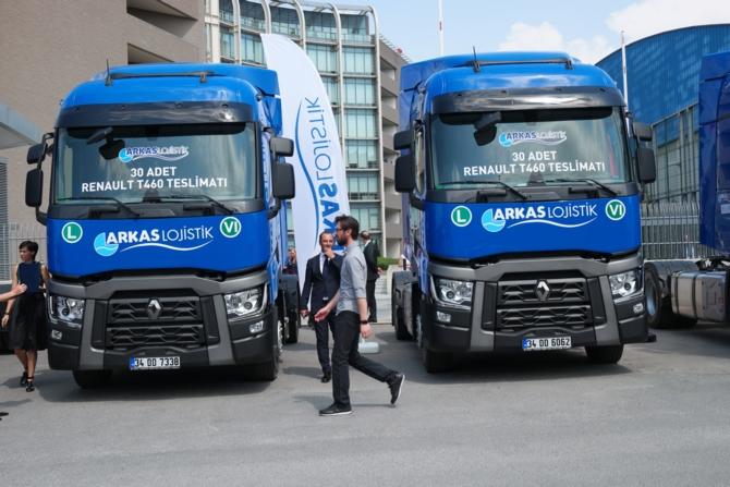 Arkas Lojistik, Renault Trucks ile yatırım yapıyor galerisi resim 7