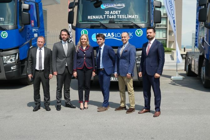 Arkas Lojistik, Renault Trucks ile yatırım yapıyor galerisi resim 9