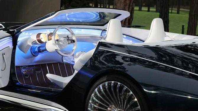 Mercedes-Maybach 6 Cabriolet tanıtıldı galerisi resim 1
