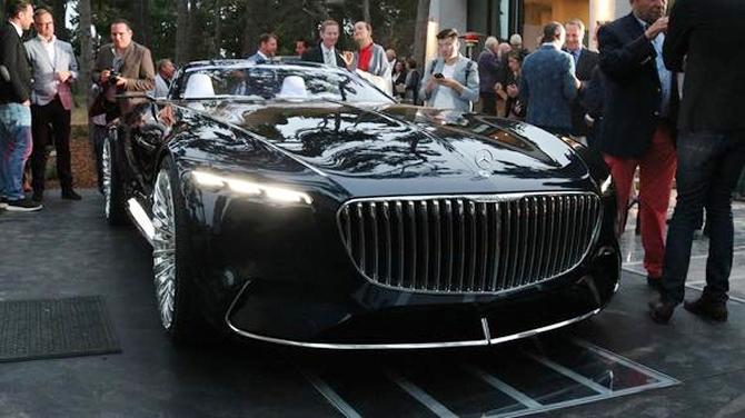 Mercedes-Maybach 6 Cabriolet tanıtıldı galerisi resim 12