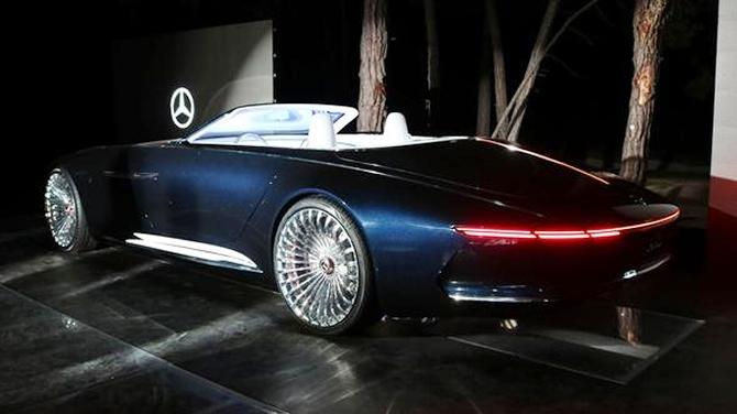 Mercedes-Maybach 6 Cabriolet tanıtıldı galerisi resim 13