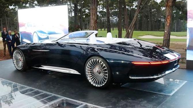 Mercedes-Maybach 6 Cabriolet tanıtıldı galerisi resim 29