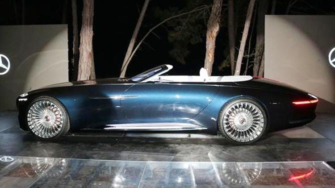 Mercedes-Maybach 6 Cabriolet tanıtıldı galerisi resim 3