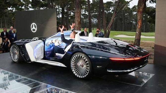 Mercedes-Maybach 6 Cabriolet tanıtıldı galerisi resim 4