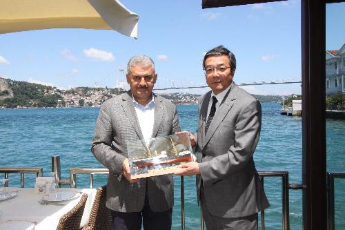 Koji Sekimizu İstanbul'u gezdi galerisi resim 6