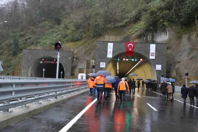 Cankurtaran Tüneli ulaşıma açıldı galerisi resim 16