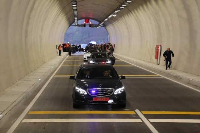 Cankurtaran Tüneli ulaşıma açıldı galerisi resim 19
