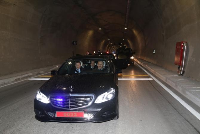 Cankurtaran Tüneli ulaşıma açıldı galerisi resim 4