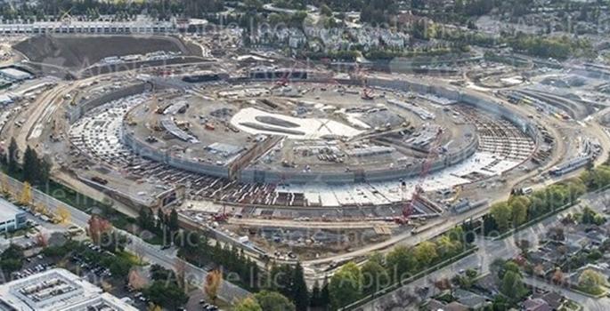 Apple'ın yeni merkezinin son hali galerisi resim 1