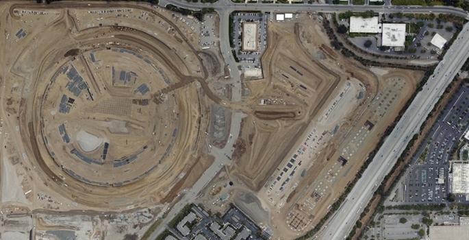 Apple'ın yeni merkezinin son hali galerisi resim 2