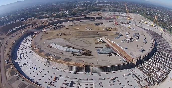 Apple'ın yeni merkezinin son hali galerisi resim 5