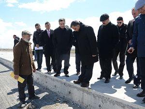 DHMİ Genel Müdürü Serdar Hüseyin Yıldırım, Yüksekova'yı denetledi