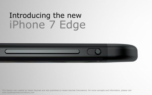 Türk tasarımcı iPhone 7 edge konseptini böyle çizdi galerisi resim 1