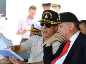Cumhurbaşkanı Recep Tayyip Erdoğan, Denizkurdu 2015 Tatbikatı'nı iz