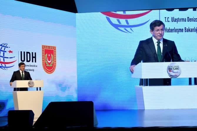 Başbakan Ahmet Davutoğlu, Yerli Uçak Projesinin Tanıtımını Yaptı galerisi resim 1