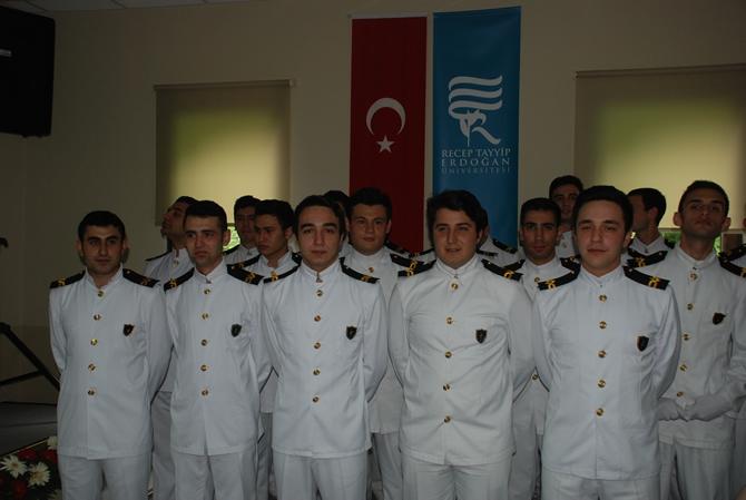 Turgut Kıran Denizcilik Yüksekokulu'nda 2. mezuniyet heyecanı galerisi resim 1