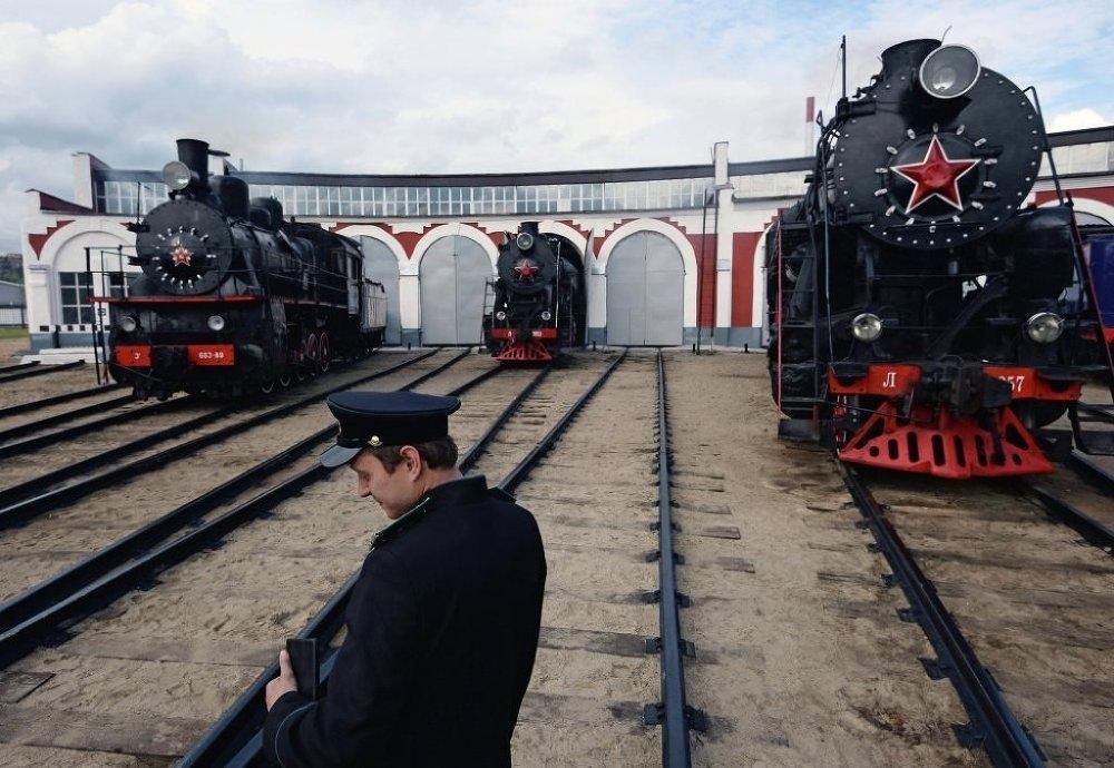 Buharlı trenler, yol hikâyelerini Moskova'da anlatacak galerisi resim 1