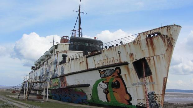 Çürümeye terk edilen görkemli gemiler galerisi resim 19