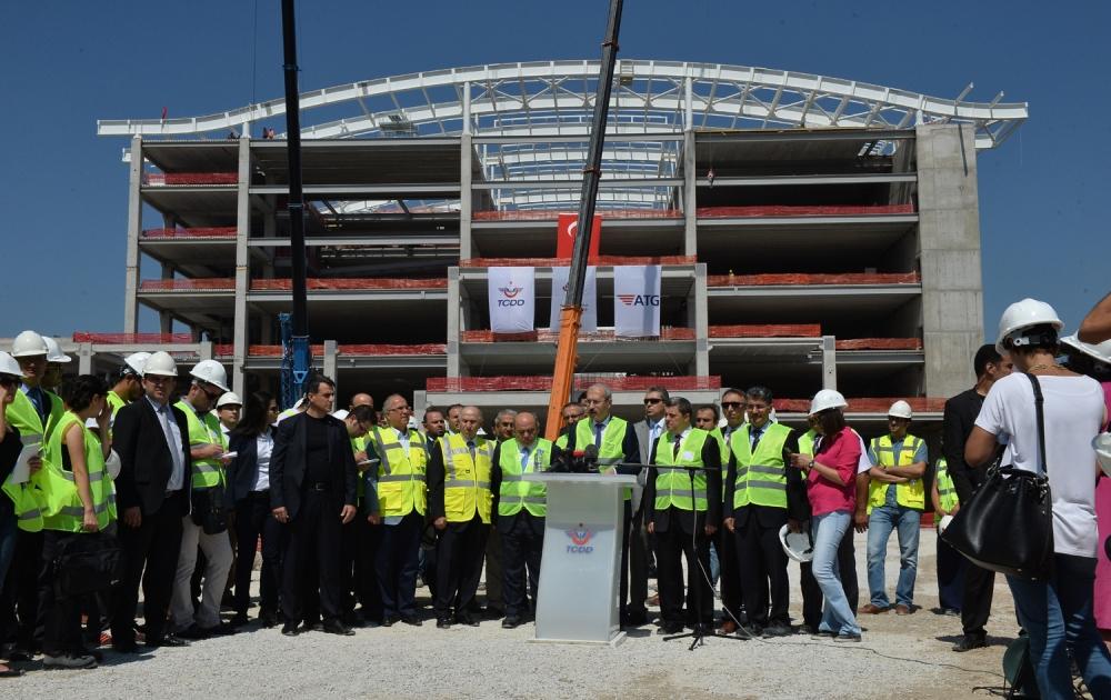 Yeni Ankara YHT Garı inşaatının yarısı tamamlandı galerisi resim 1