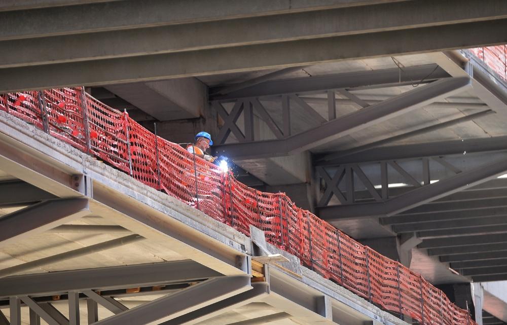 Yeni Ankara YHT Garı inşaatının yarısı tamamlandı galerisi resim 5