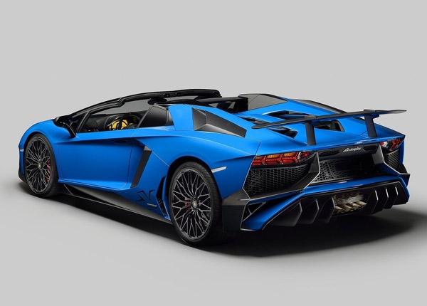 Lamborghini Aventador SV Roadster galerisi resim 4