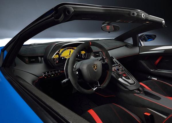 Lamborghini Aventador SV Roadster galerisi resim 8