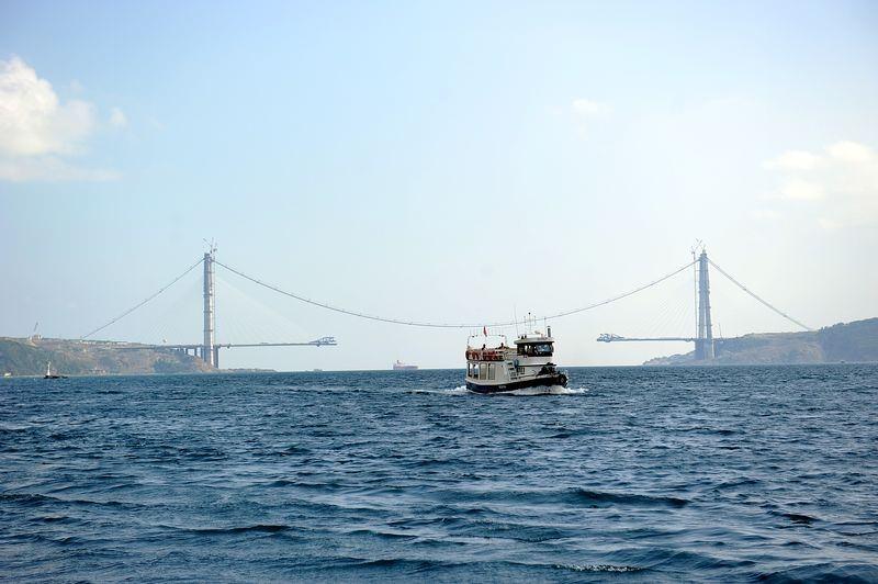 Yavuz Sultan Selim Köprüsü'nde çalışmalar hız kesmiyor galerisi resim 1