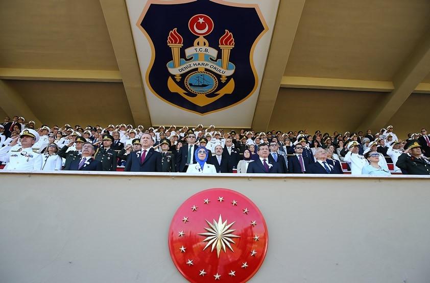 'Mavi Vatan'ın 223 yeni neferi diplomalarını aldı galerisi resim 2