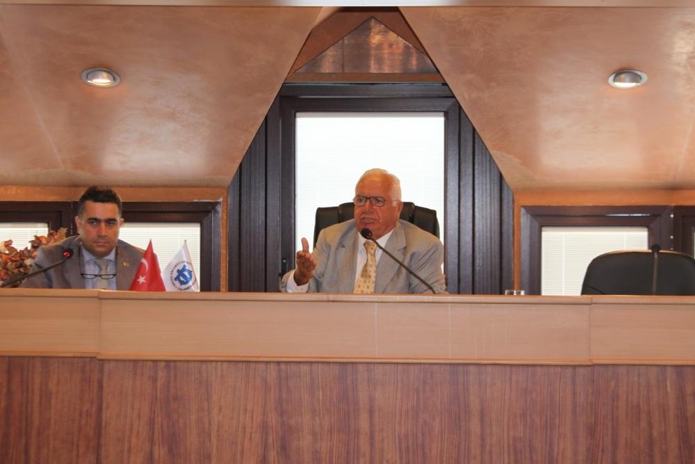 İMEAK Deniz Ticaret Odası, Eylül Ayı Olağan Meclis toplantısı yapıldı galerisi resim 1