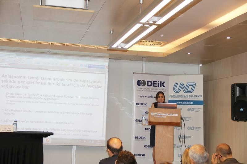 AB-Türkiye Gümrük Birliği'nde Kazan-Kazan Yaklaşımı Semineri galerisi resim 14