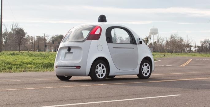 Google'ın sürücüsüz otomobili tanıtıldı galerisi resim 1