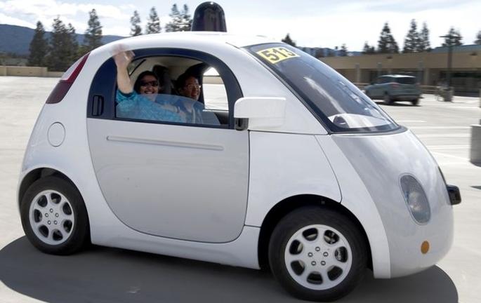 Google'ın sürücüsüz otomobili tanıtıldı galerisi resim 10