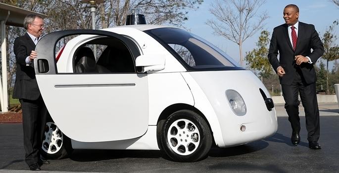 Google'ın sürücüsüz otomobili tanıtıldı galerisi resim 2