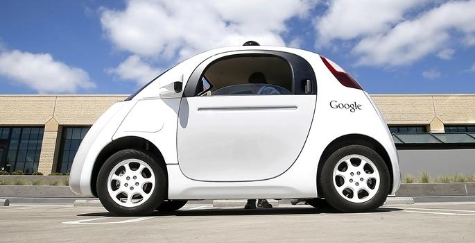Google'ın sürücüsüz otomobili tanıtıldı galerisi resim 3