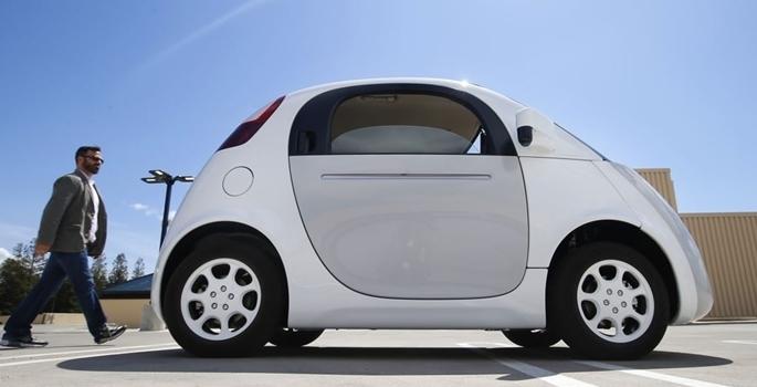 Google'ın sürücüsüz otomobili tanıtıldı galerisi resim 5
