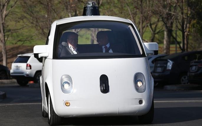 Google'ın sürücüsüz otomobili tanıtıldı galerisi resim 7