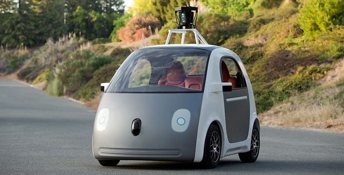 Google'ın sürücüsüz otomobili tanıtıldı galerisi resim 8