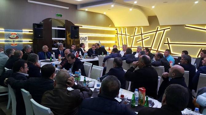 UND Başkanın Çetin Nuhoğlu, nakliyecilerle buluştu galerisi resim 10