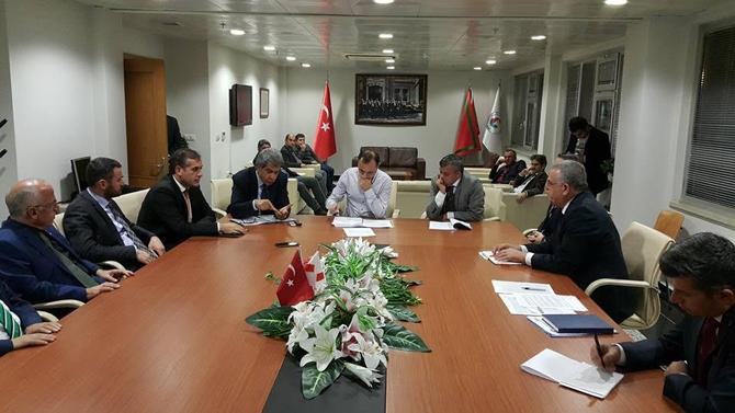 UND Başkanın Çetin Nuhoğlu, nakliyecilerle buluştu galerisi resim 13