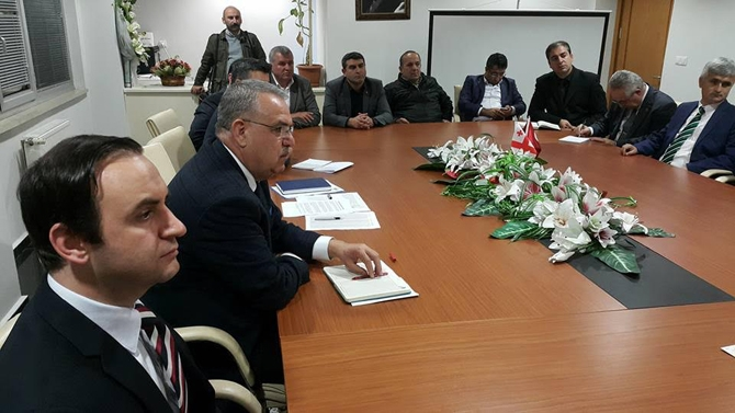 UND Başkanın Çetin Nuhoğlu, nakliyecilerle buluştu galerisi resim 2