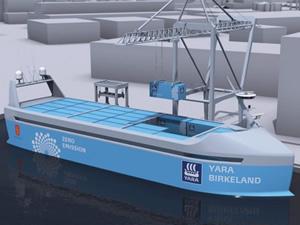 İnsansız ilk otonom konteyner gemisi, 2020'de hizmete girmesi planlanıyor