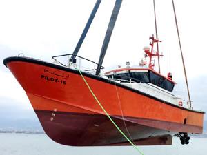 TORGEM Tersanesi'nde inşa edilen 3 adet pilot botu, Suudi Arabistan'a ihraç edildi