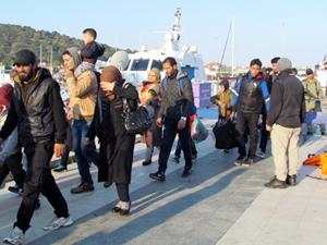 Ege Denizi'nde yasa dışı göçle mücadele devam ediyor